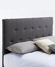 Muse Headboard, Full/Queen, Ash Grey