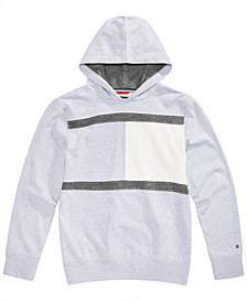 Tommy Hilfiger Big Boys Tonal Colorblocked Hoodie