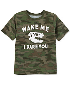 Carter's Big Boys Camo-Print Pajama Top