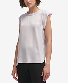 DKNY Cap-Sleeve Top, Created for Macy's