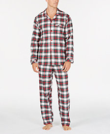 matching family pajamas mens stewart plaid pajama set created for macys