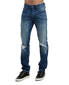 True Religion Men's Rocco No Flap Jeans
