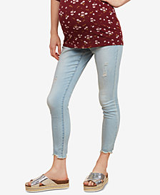 Jessica Simpson Maternity Distressed Skinny Jeans