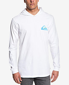 Quiksilver Men's Vice Versa Long-Sleeve Hooded T-Shirt