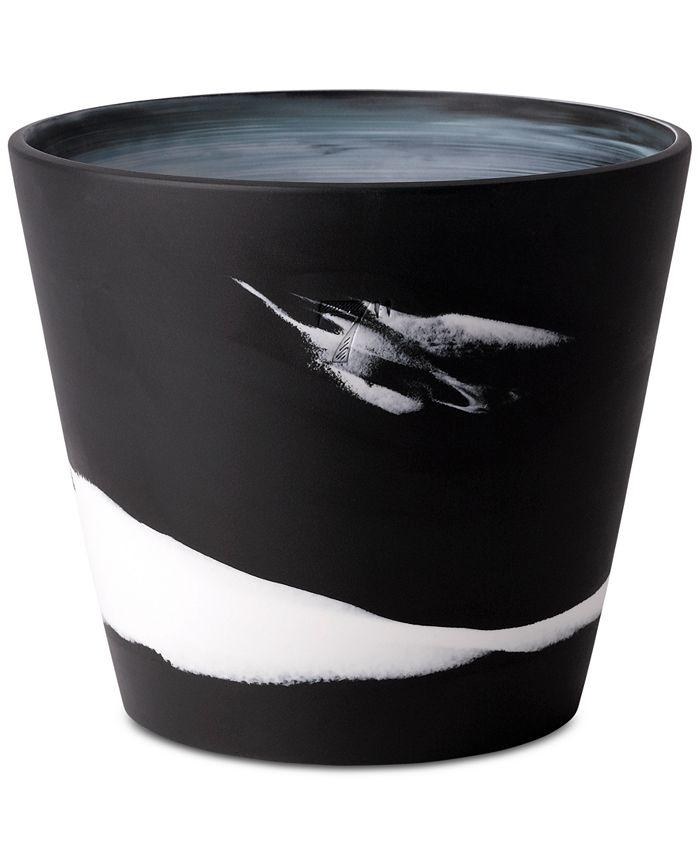 "Wedgwood - Burlington Black & White Pot 7"""