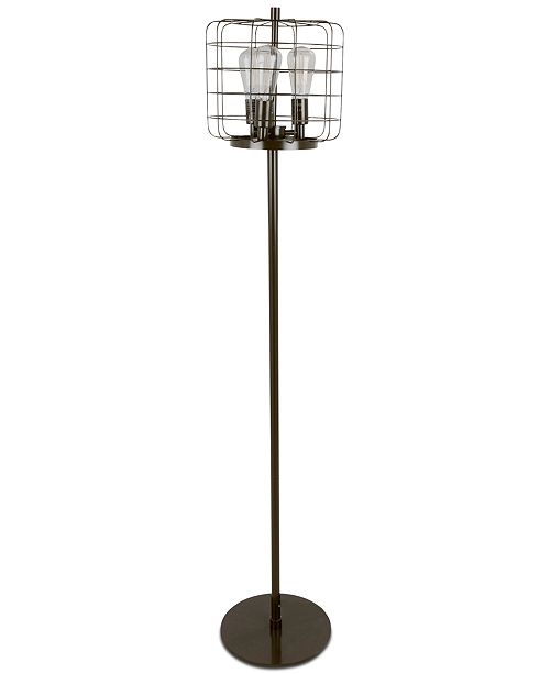 Lumisource Indy Cage Industrial Floor Lamp