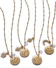 lonna & lilly Constellation Zodiac Pendant Necklace Collection