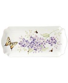 Lenox Butterfly Meadow Porcelain Rectangular Tray