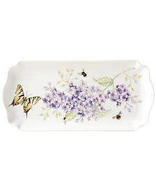 Lenox Butterfly Meadow Porcelain Rectangular Tray