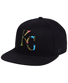 '47 Brand Kansas City Royals Camfill Neon Snapback Cap