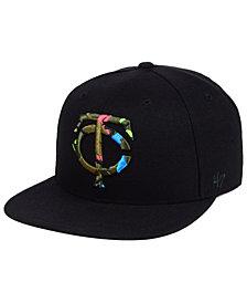 '47 Brand Minnesota Twins Camfill Neon Snapback Cap