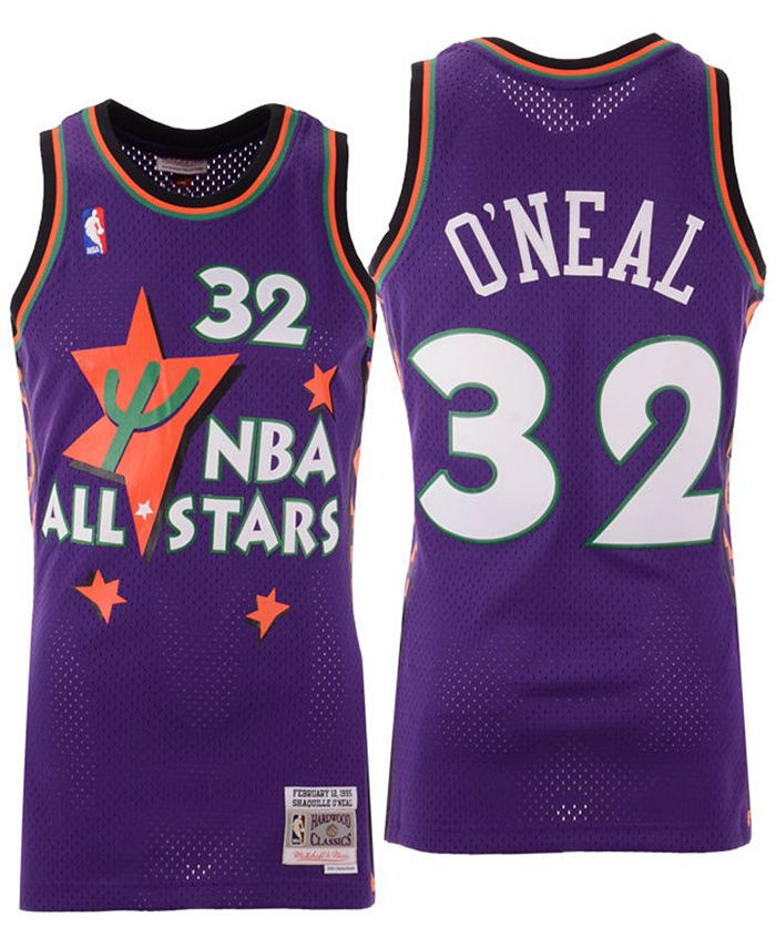 Mitchell & Ness Men's Shaquille O'Neal NBA All Star 1995 ...