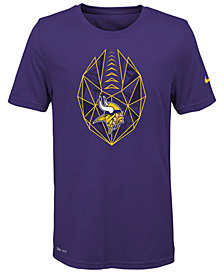 Nike Minnesota Vikings Football Icon T-Shirt, Big Boys (8-20)
