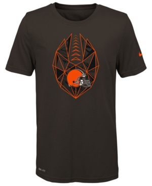 Nike Cleveland Browns Football Icon T-Shirt, Big Boys (8-20)