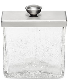 Roselli Trading Company Crackle Canister