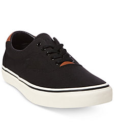 Polo Ralph Lauren Men's Thorton Mesh Low-Top Sneakers