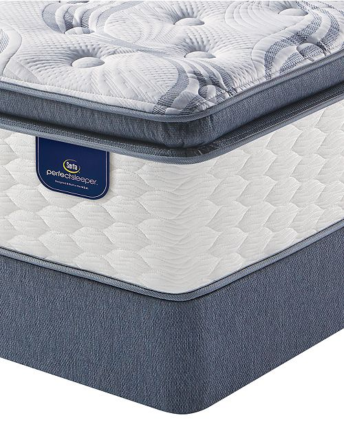 Serta Perfect Sleeper 1375 Broadview Plush Pillow Top Mattress