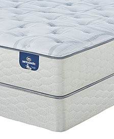 "Serta Sertapedic 12.25"" Cassaway Plush Mattress Set- Queen"