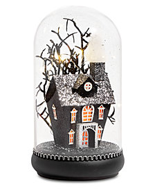 CLOSEOUT! Martha Stewart Collection Halloween LED Spooky Owl Table Dome, Created for Macy's