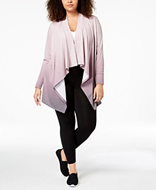 Plus Size Dip-Dyed Wrap, Created for Macy's