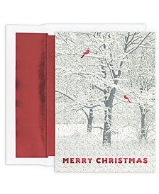 Masterpiece Studios Snowy Trees Boxed Cards