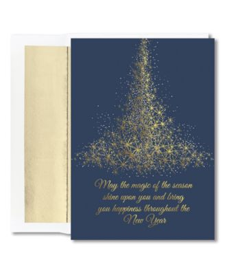Sparkling Tree Boxed Cards