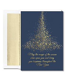 Masterpiece Studios Sparkling Tree Boxed Cards