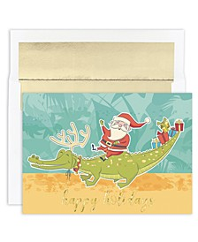 Masterpiece Studios Santa & Gator Boxed Cards