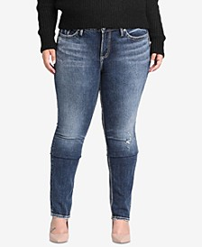 Plus Size Elyse Curvy-Fit Jeans