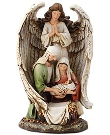 Napco Guardian Angel Nativity Figurine