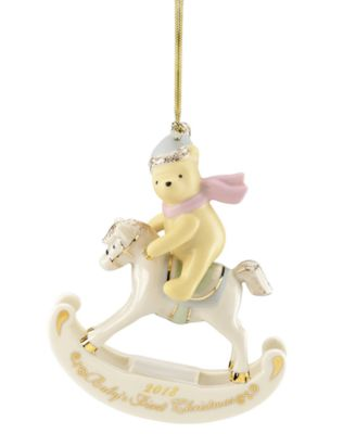 2018 Winnie The Pooh Baby's 1st Ornament
