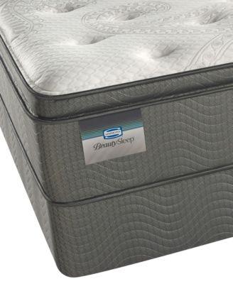 """BeautySleep 12.5"""" Keyes Peak Luxury Firm Pillow Top Mattress Set- Twin"""