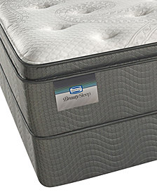"ONLINE ONLY! BeautySleep 12.5"" Keyes Peak Luxury Firm Pillow Top Mattress Set- Twin"