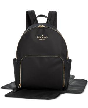 Watson Lane - Baby Hartley Nylon Backpack - Black