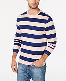 Tommy Hilfiger Men's Lexington Stripe Pocket T-Shirt