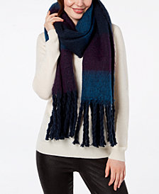 Steve Madden Colorblocked Woven Scarf