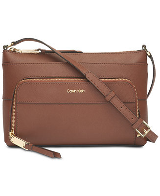 Lily Saffiano Leather Crossbody by General