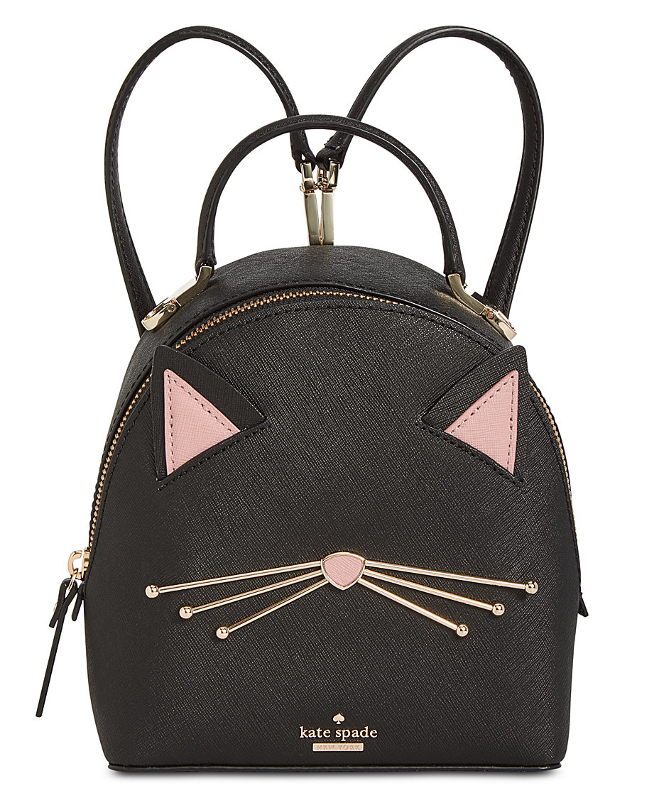 8af21662c kate spade new york Cat's Meow Cat Binx Mini Backpack & Reviews ...