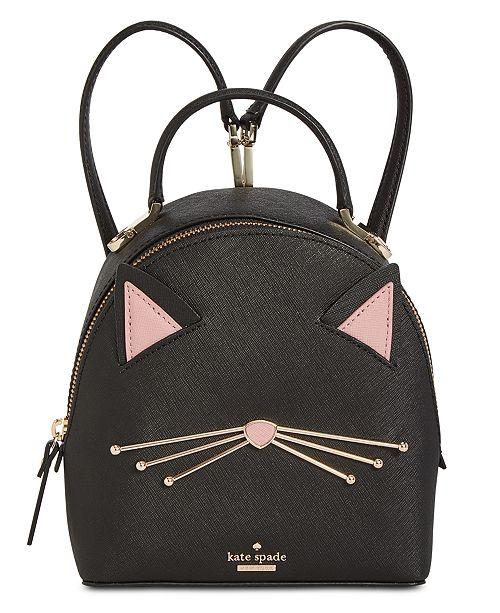 900343596b44 kate spade new york Cat's Meow Cat Binx Mini Backpack & Reviews ...