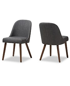 Trixye Dining Chair (Set Of 2), Quick Ship