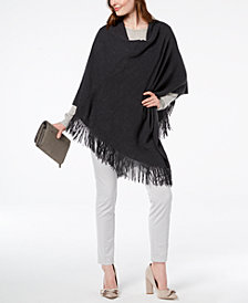 Cejon Back-to-Basics Fringe Poncho