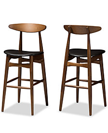 Knoxe Bar Stool (Set Of 2), Quick Ship