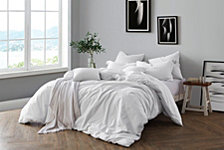 Yarn Dyed King/California King Duvet Cover Set