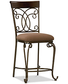 Bombay Counter Stool (Set Of 2), Quick Ship