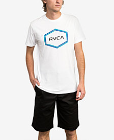 RVCA Men's Logo Graphic T-Shirt
