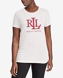 Lauren Ralph Lauren Plus Size Logo Graphic T-Shirt