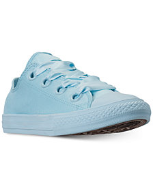 Converse Girls' Chuck Taylor All Star Big Eyelets Ox Casual Sneakers from Finish Line