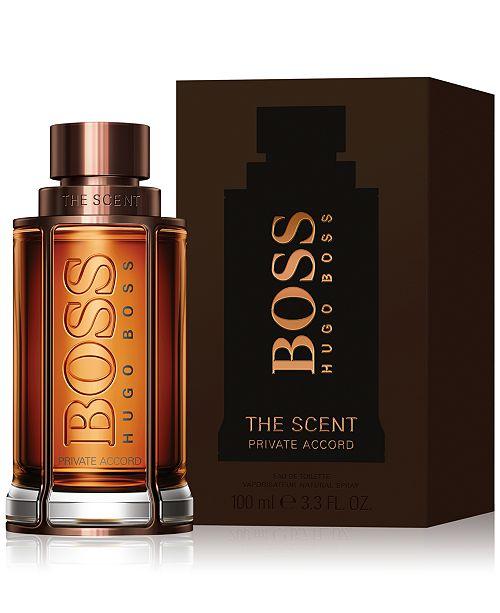 4b4e815e3 ... Hugo Boss Hugo Boss Men's BOSS THE SCENT PRIVATE ACCORD Eau de Toilette  Spray, 3.3 ...