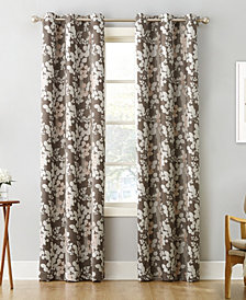 "Sun Zero Piper Foliage 40"" X 63"" Print Blackout Grommet Curtain Panel"