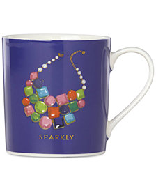 kate spade new york Things We Love Sparkly Necklace Mug